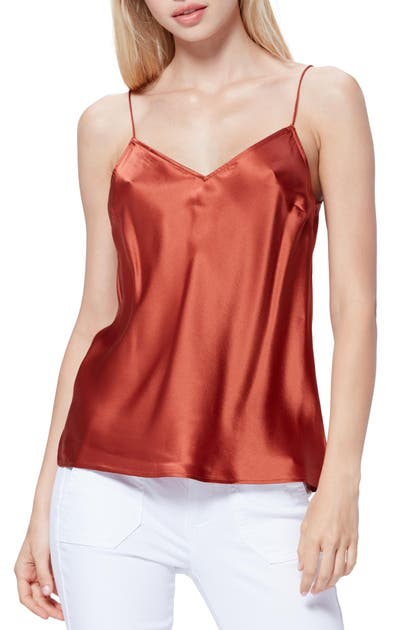 Paige Tops CICELY SILK CAMISOLE