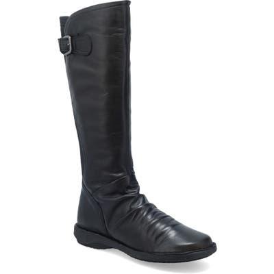 Miz Mooz Providence Knee High Boot - Black