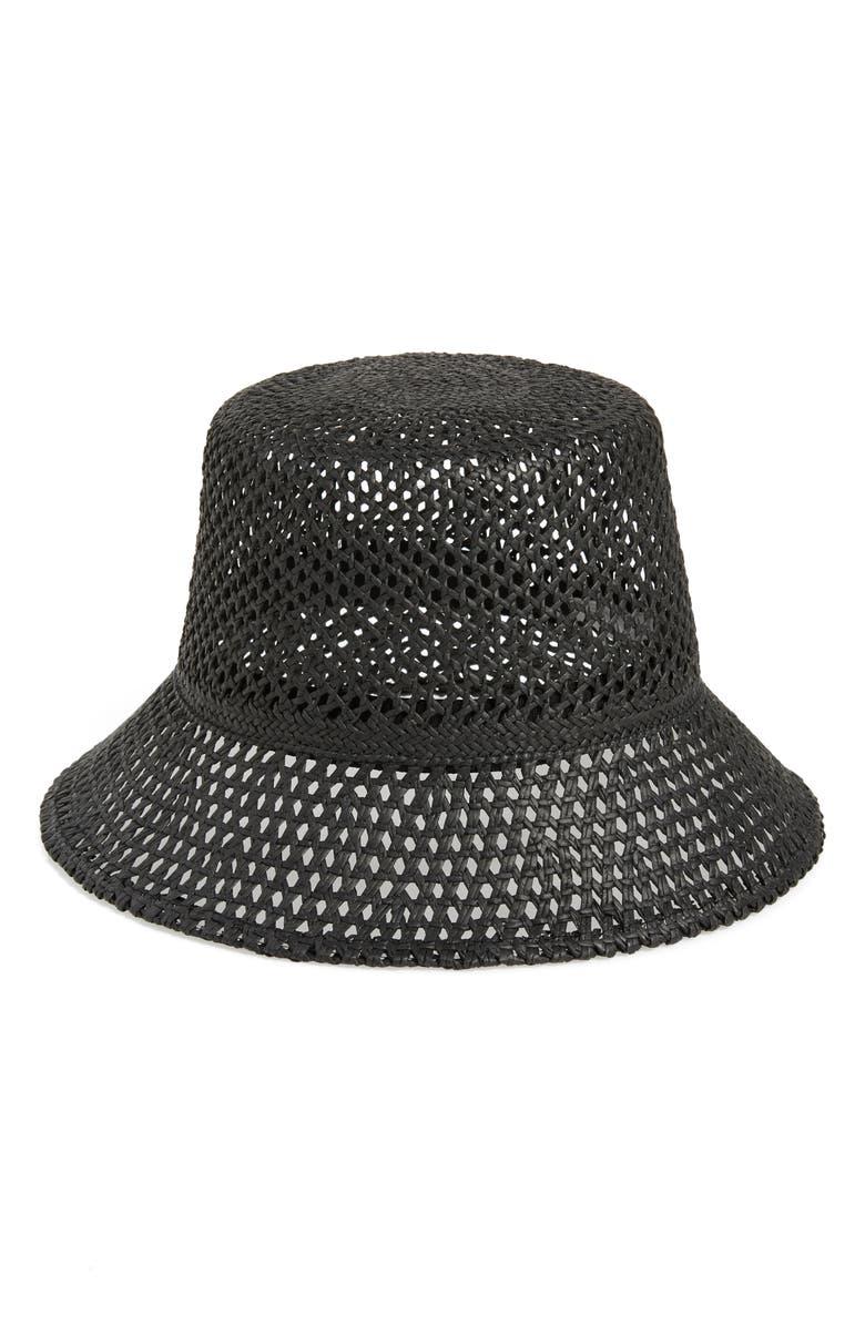 51479a4c32298f Nordstrom Open Weave Straw Bucket Hat | Nordstrom