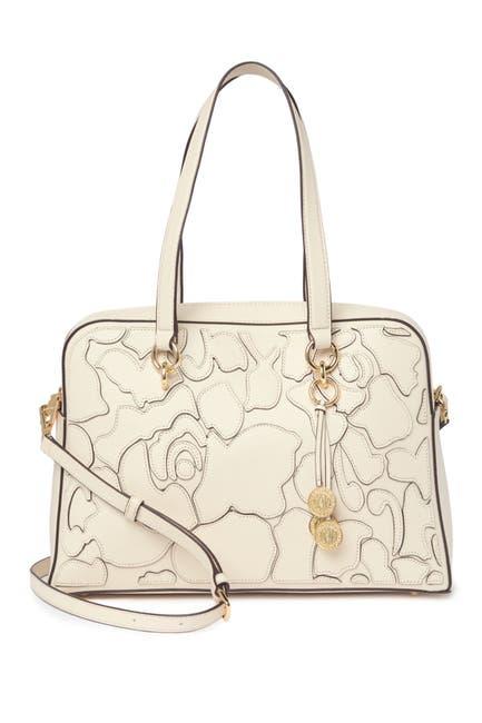 Image of DKNY Sara Leather Satchel Bag