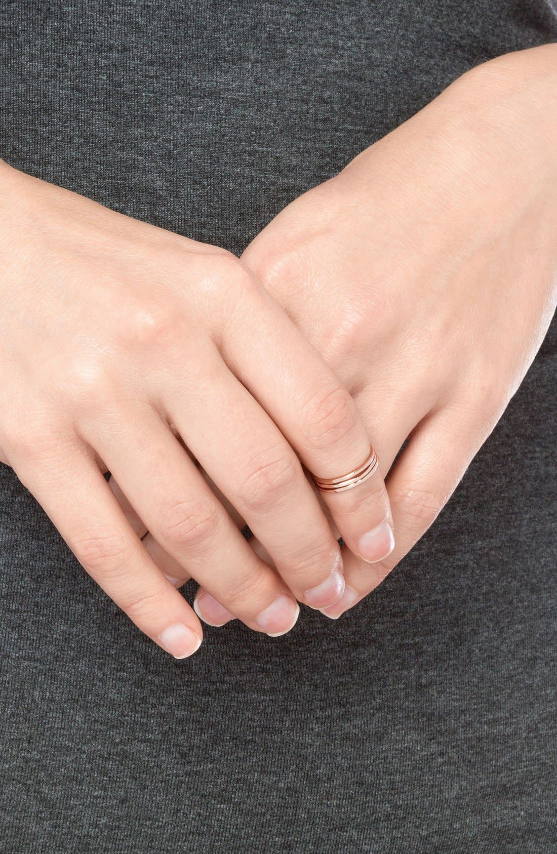 Image of Gorjana 'G Ring' Midi Rings