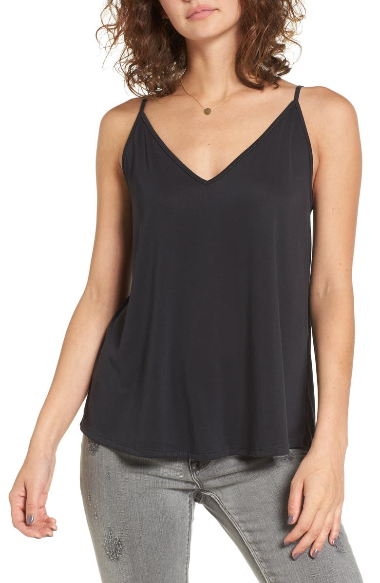 BP. Double V Swing Camisole, Main, color, 001