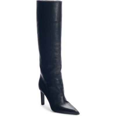 Saint Laurent Kate Straight Knee High Boot, Black