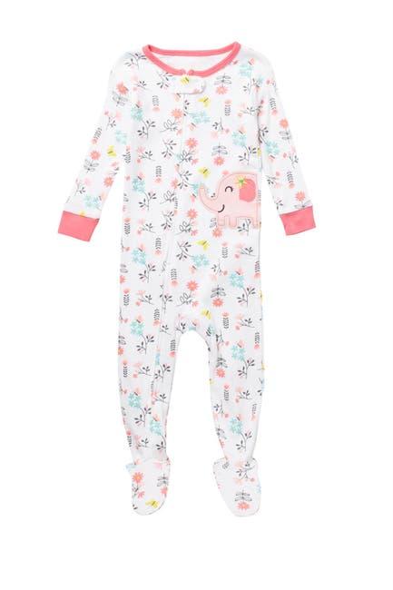Image of koala baby Footed Printed Pajama