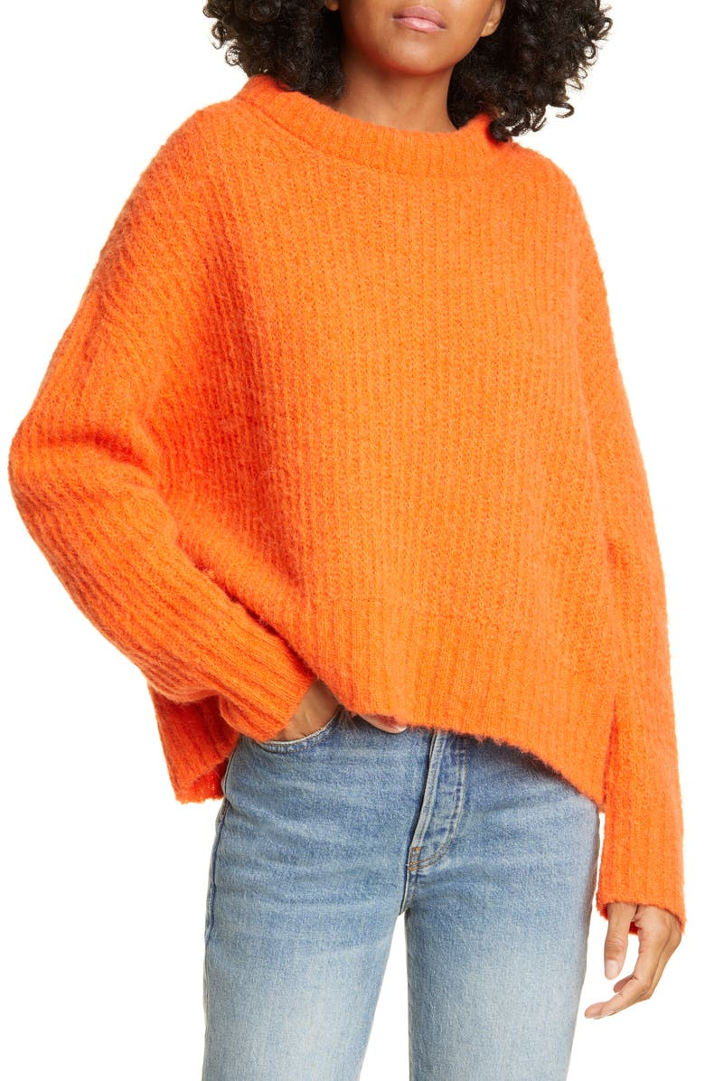 SEA Nora Ribbed Oversize Sweater, Main, color, 800