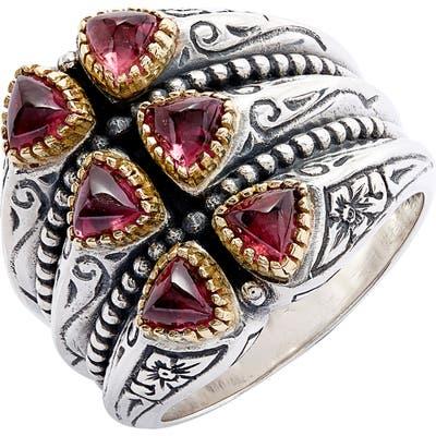 Konstantino Trillion Verticale Semiprecious Stone Ring