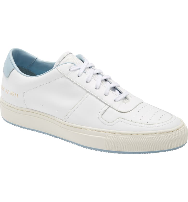 COMMON PROJECTS Bball 90 Low Top Sneaker, Main, color, 100