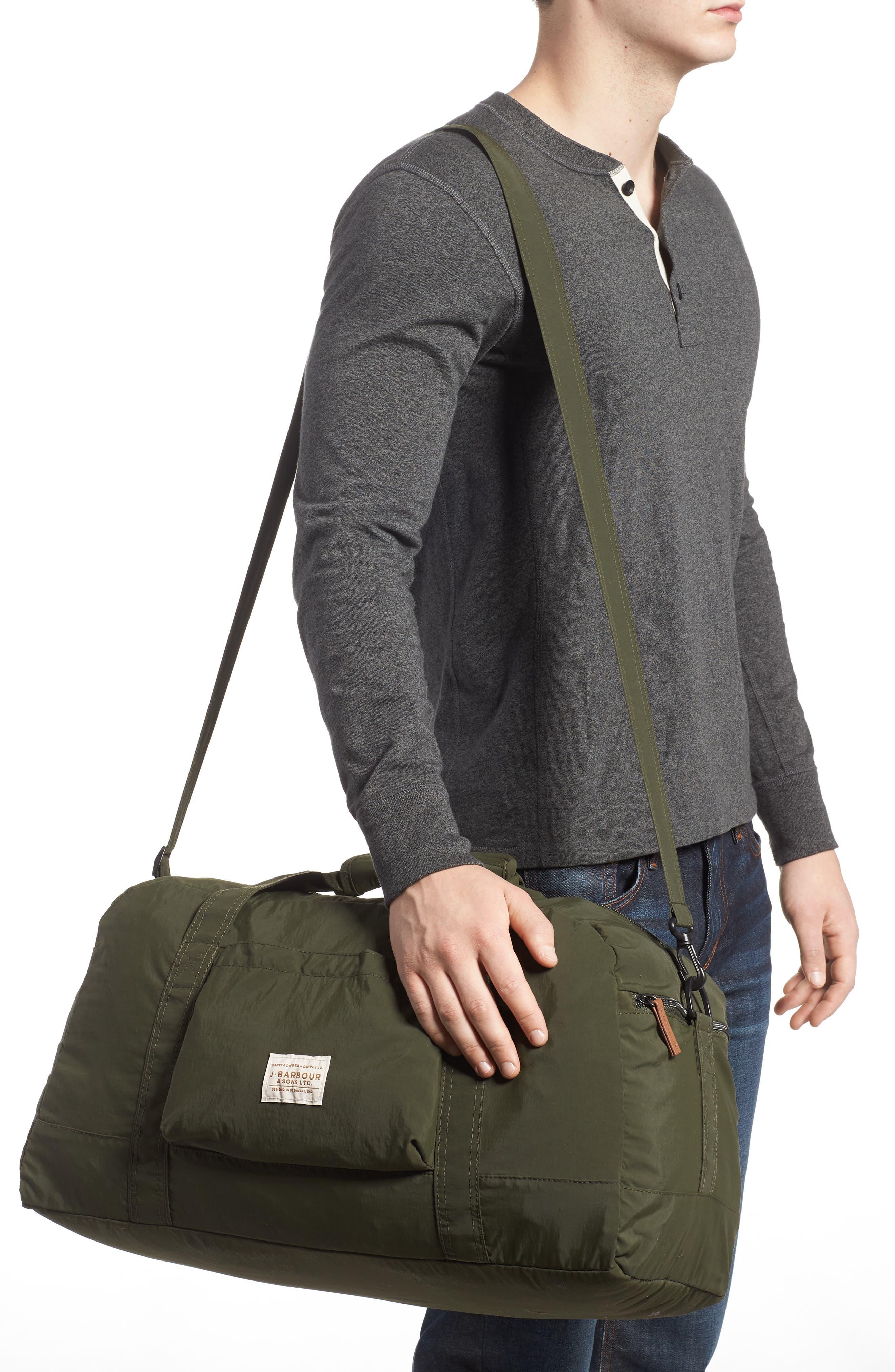 ,                             Banchory Packable Duffle Bag,                             Alternate thumbnail 2, color,                             DARK GREEN