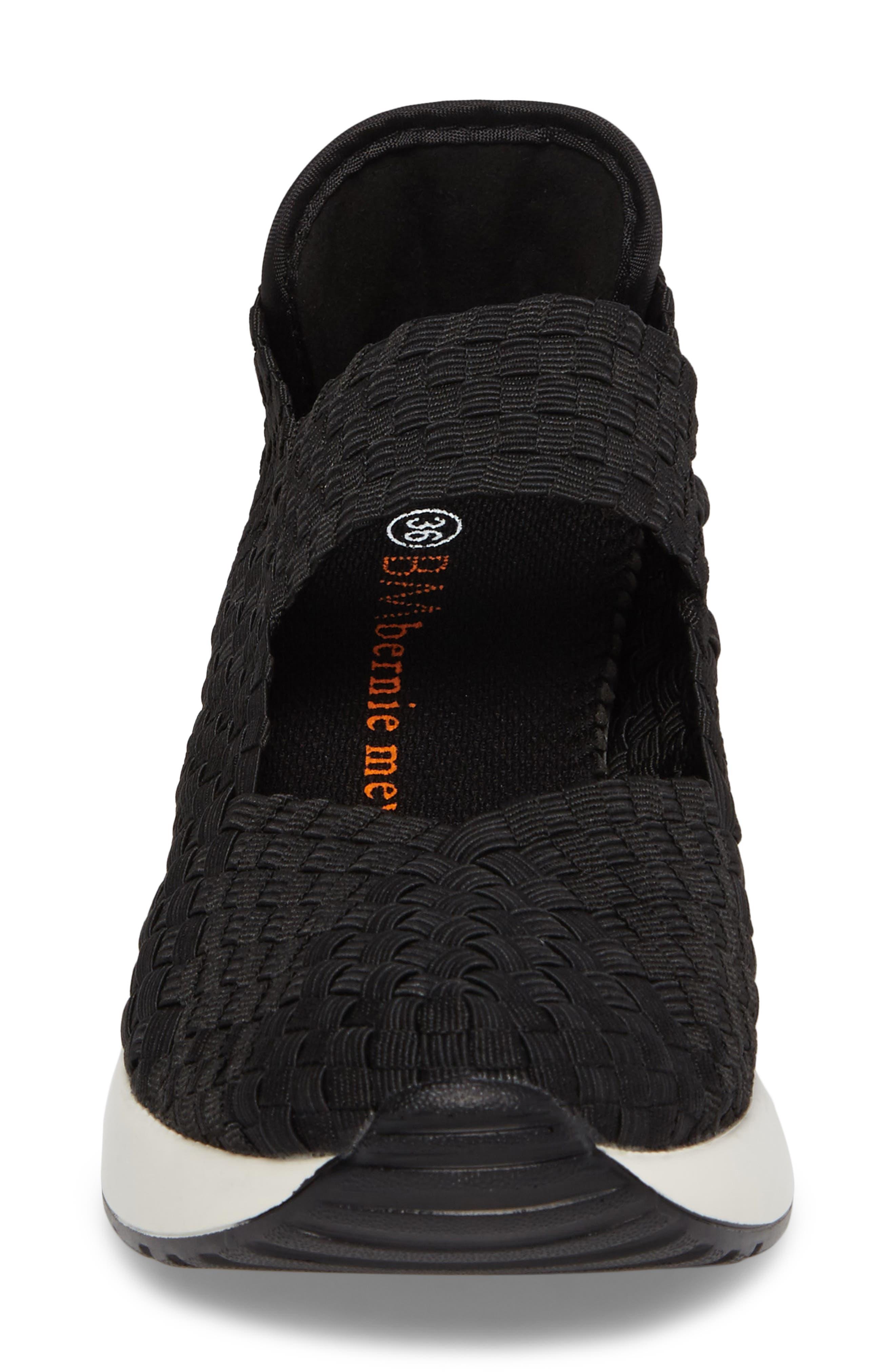 ,                             Best Charm Mary Jane Sneaker,                             Alternate thumbnail 4, color,                             BLACK FABRIC