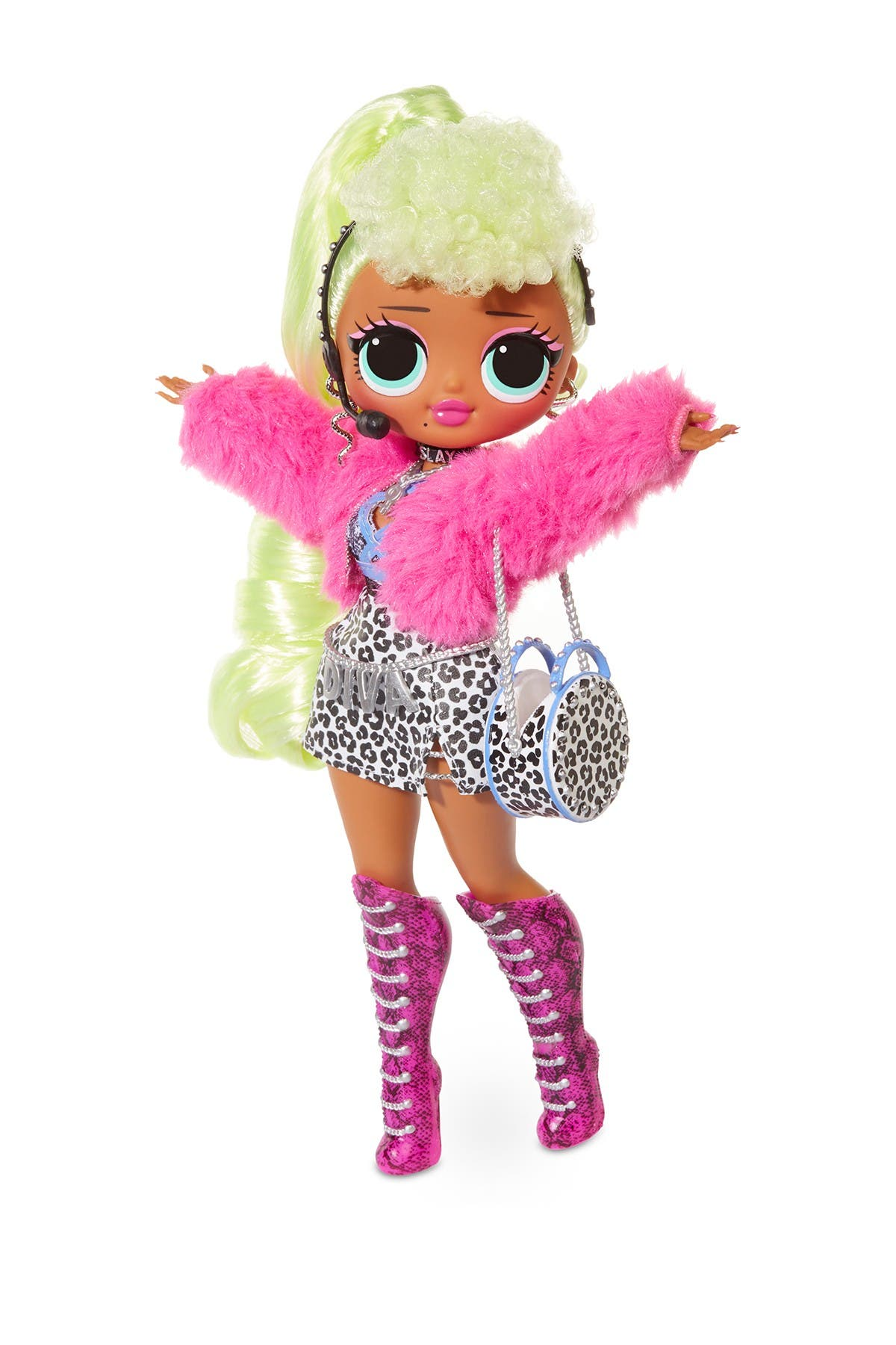 LOL Surprise doll accessories silver boots