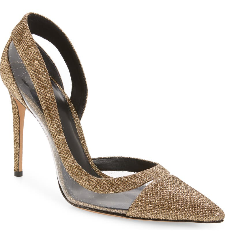 Alexandre Birman Wavee Clear Cap Toe Pump Women