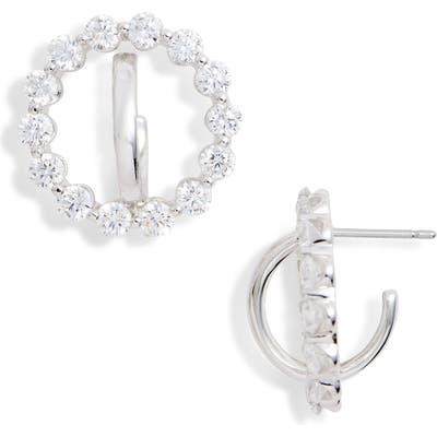 Nadri Orbit Cubic Zirconia Earrings