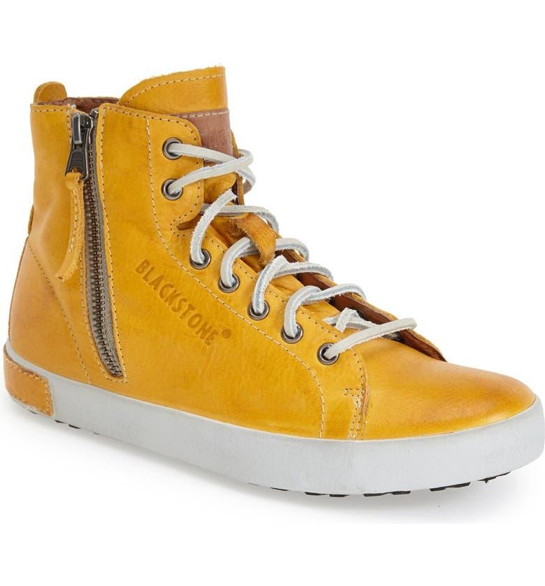 BLACKSTONE 'JL' High Top Sneaker, Main, color, BUTTERSCOTCH