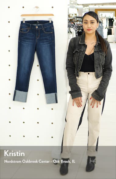 Deep Cuff Crop Jeggings, sales video thumbnail