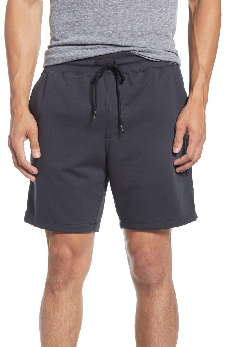 HURLEY Dri-FIT Naturals Athletic Shorts, Main, color, OFF NOIR