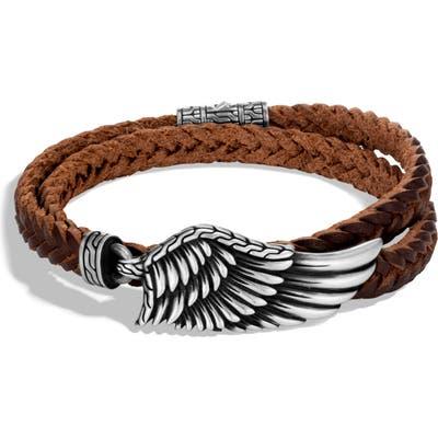 John Hardy Legends Eagle Double Wrap Bracelet