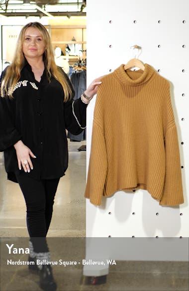 Turtleneck Wool Blend Sweater, sales video thumbnail