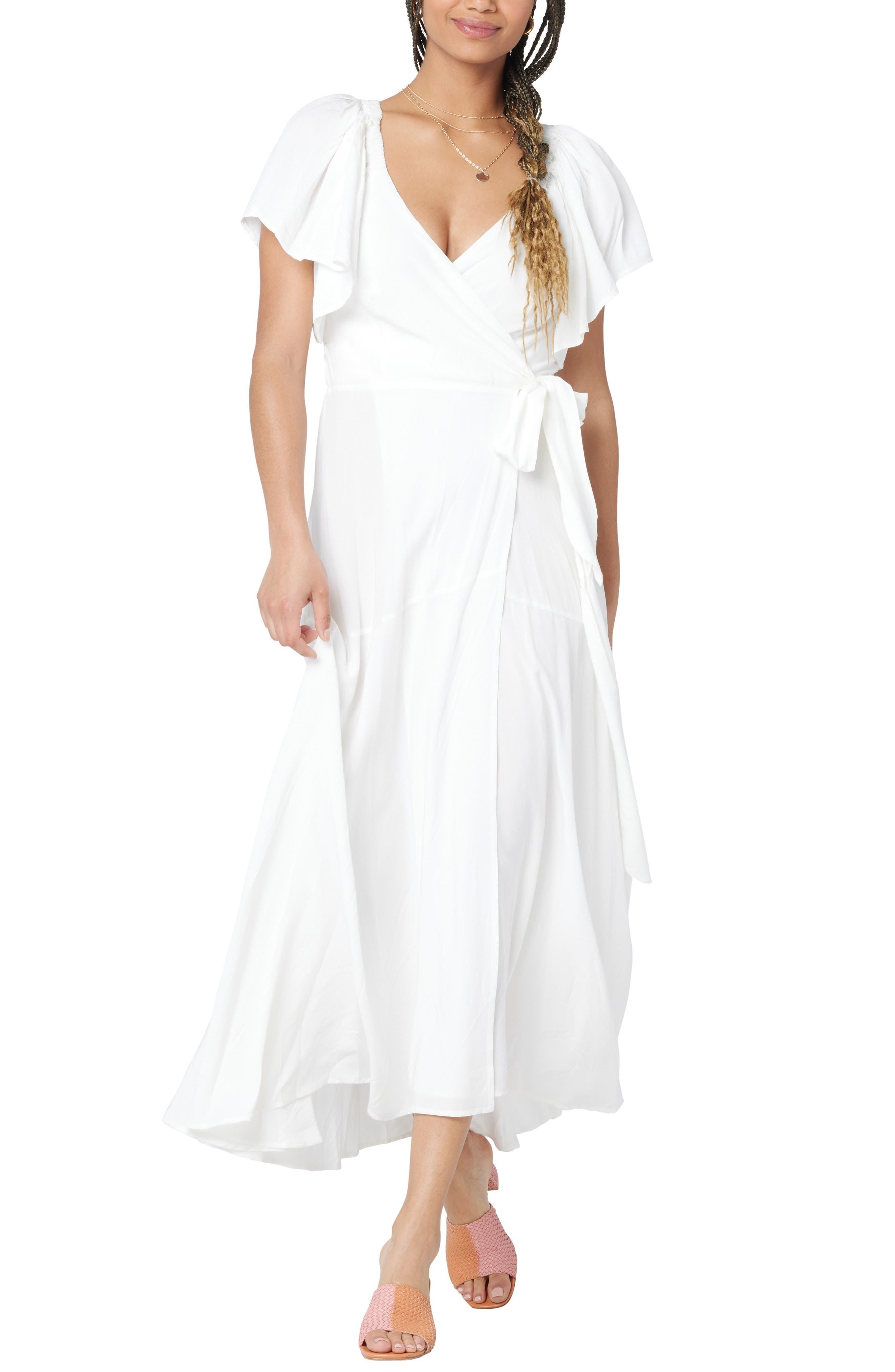 Women's L Space Panama Cover-Up Wrap Dress