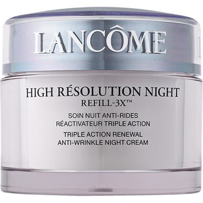 Lancome High Resolution Refill-3X Anti-Wrinkle Night Moisturizer Cream