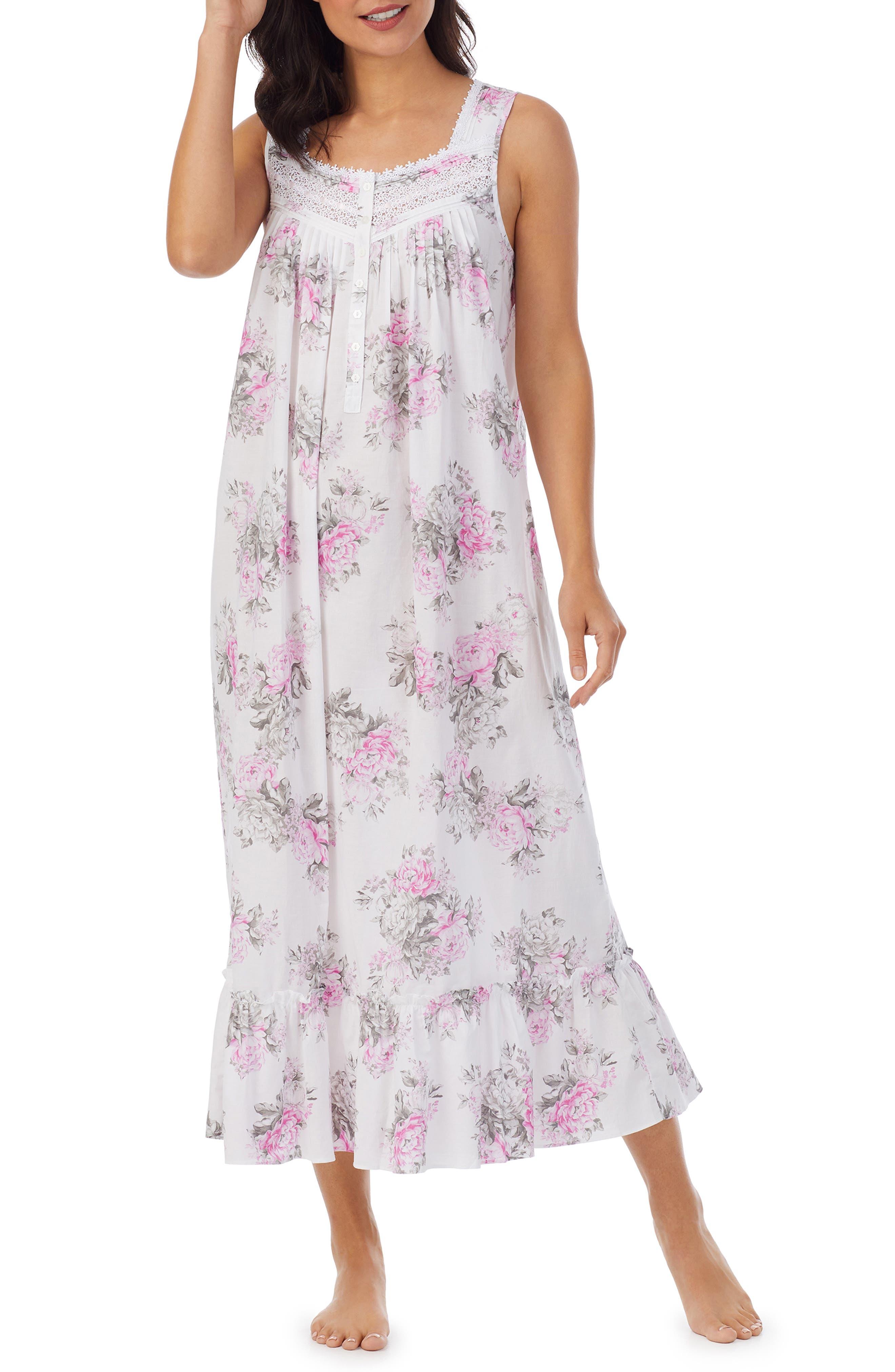 Floral Cotton Ballet Nightgown
