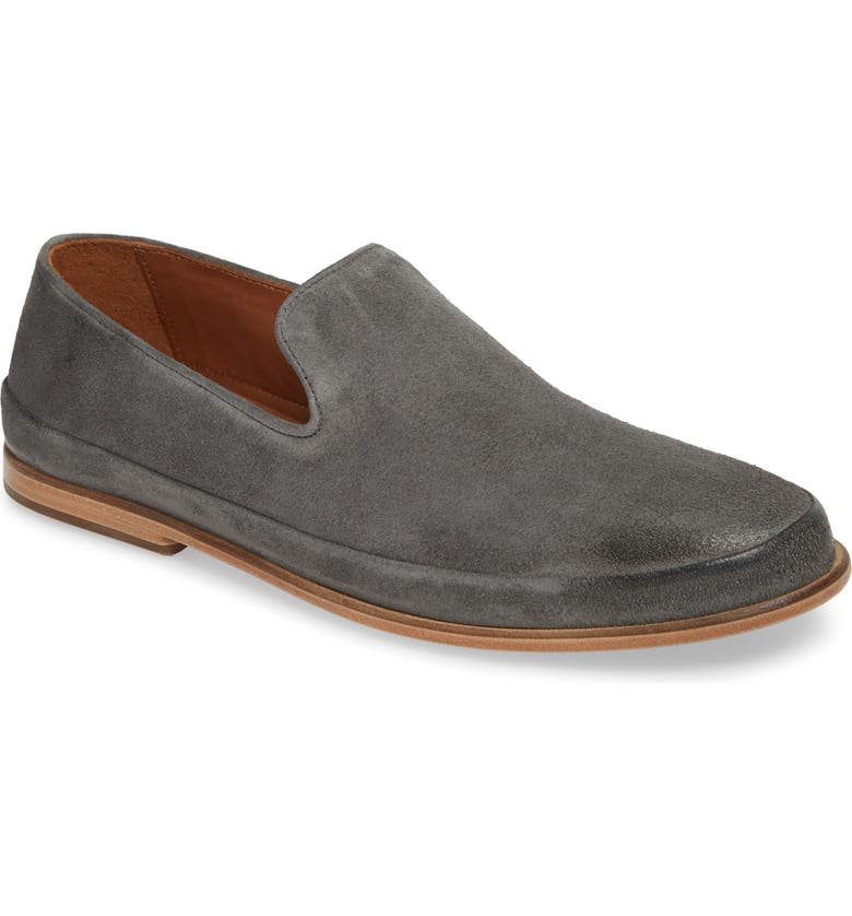 JOHN VARVATOS Collection Amalfi Venetian Loafer, Main, color, STEEL GREY