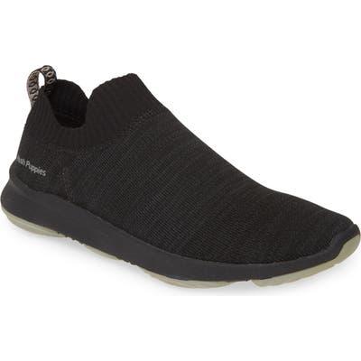 Hush Puppies Free Slip-On Sneaker, Black