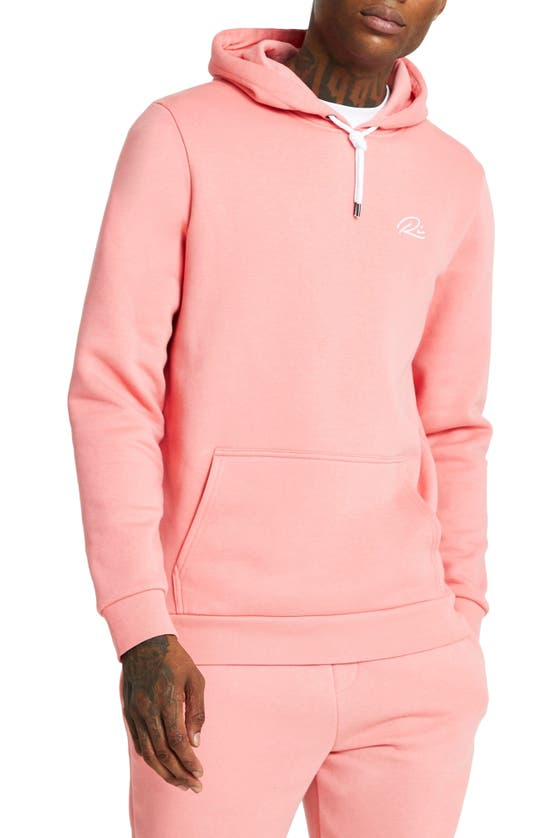 River Island River Isand Hoodie In Pink