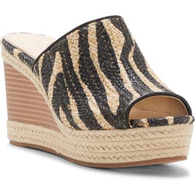 Jessica Simpson Monrah Wedge Slide Sandal, Black