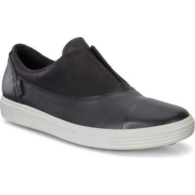 Ecco Soft 7 Iii Slip-On Sneaker, Black