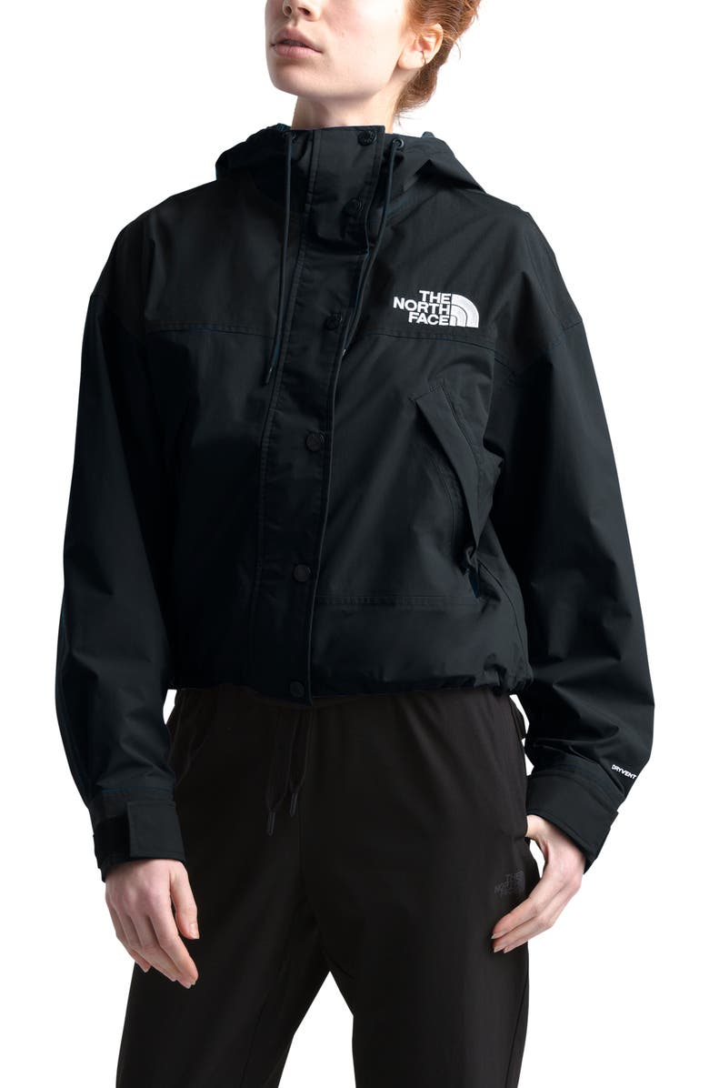 THE NORTH FACE Reign On Water Repellent Hooded Jacket, Main, color, TNF BLACK