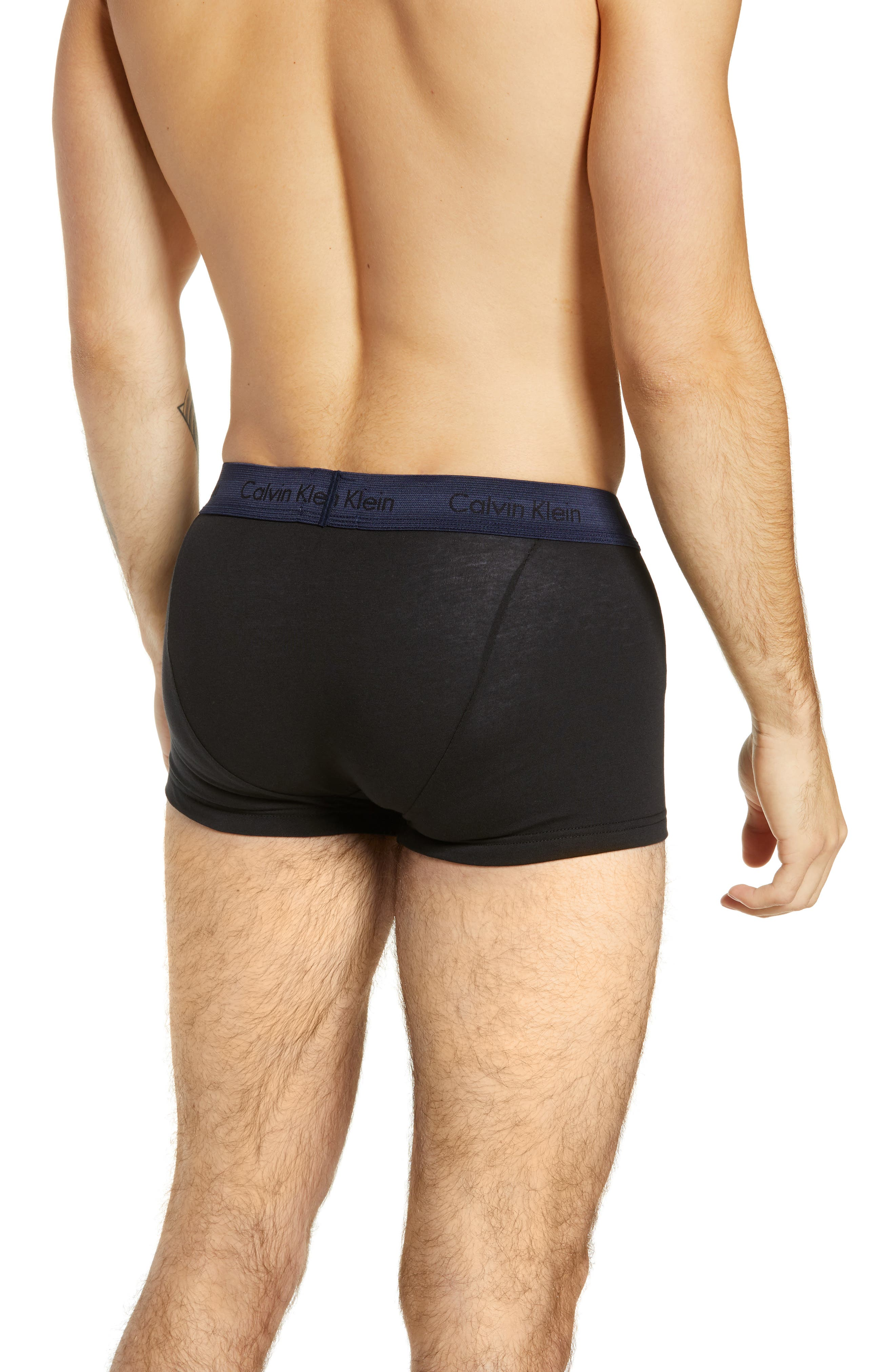 ,                             3-Pack Stretch Cotton Low Rise Trunks,                             Alternate thumbnail 175, color,                             013
