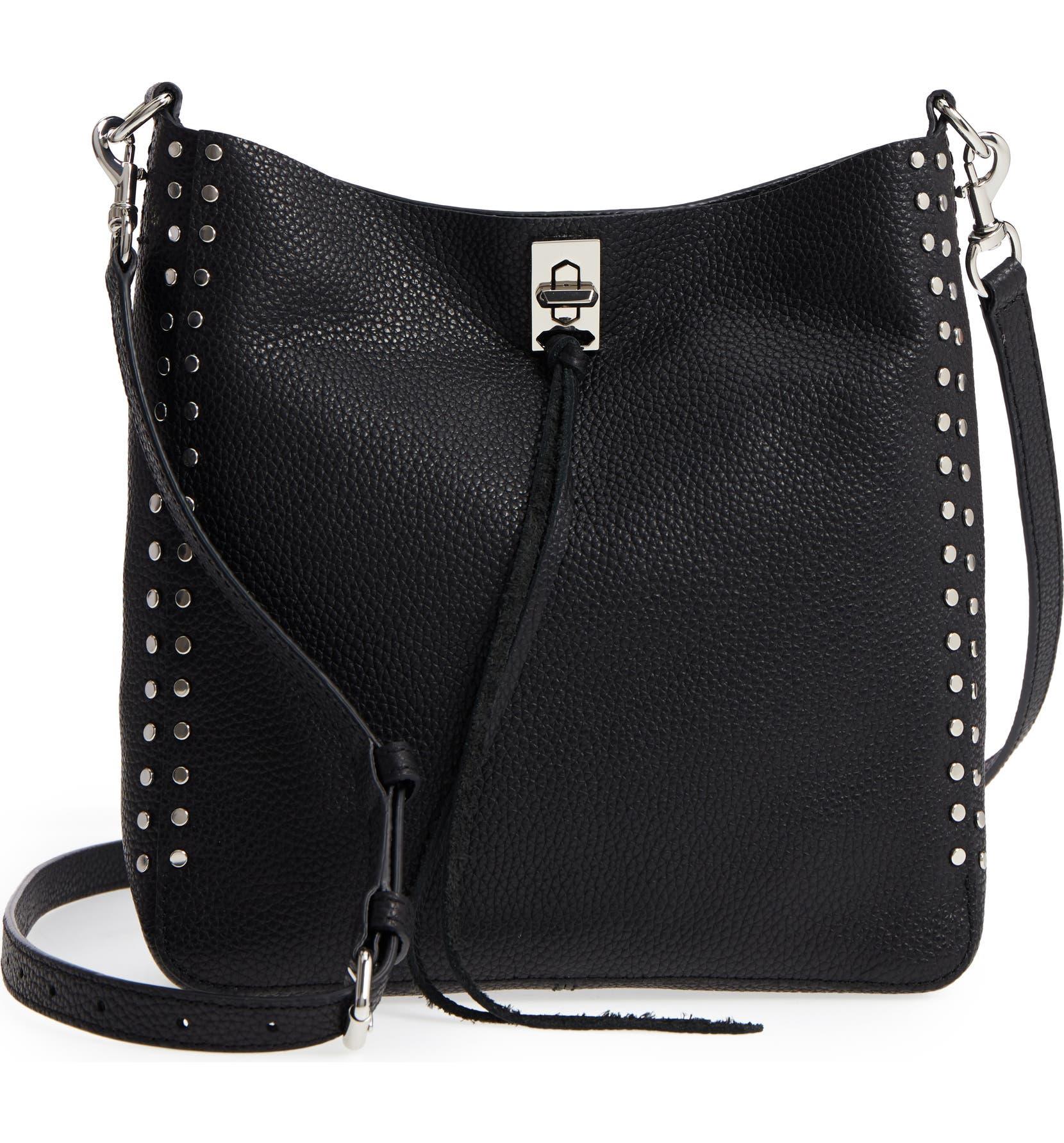 abbefec47 Rebecca Minkoff Small Darren Leather Feed Bag | Nordstrom