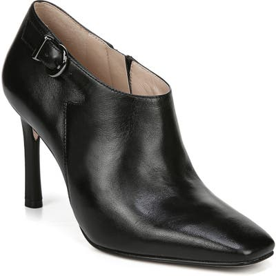 27 Edit Penny Square Toe Buckle Bootie