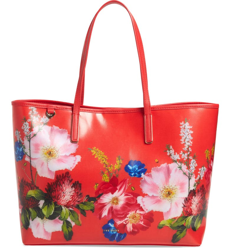 Jenii Berry Sundae Shopper, Main, color, RED