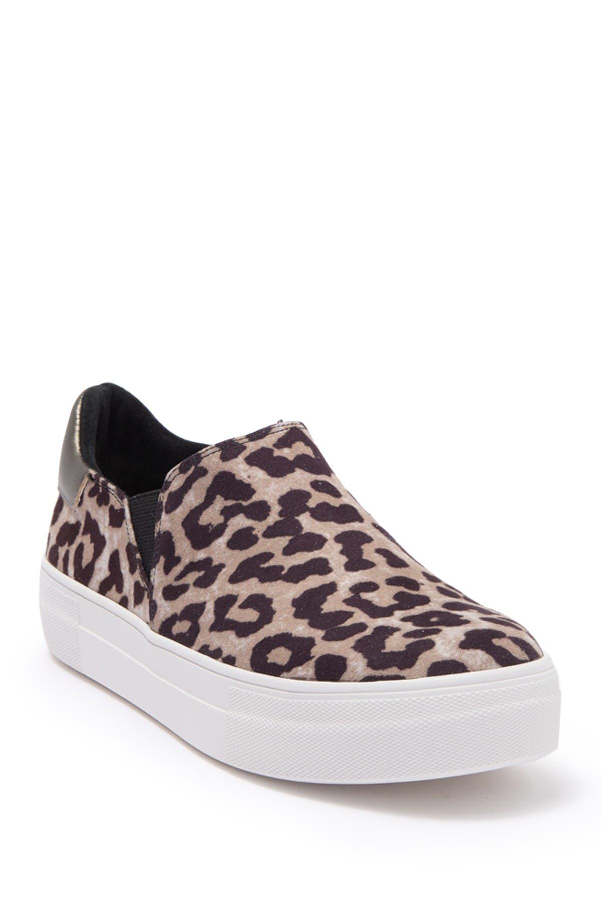 Image of 14th & Union Selma Leopard Print Slip-On Sneaker