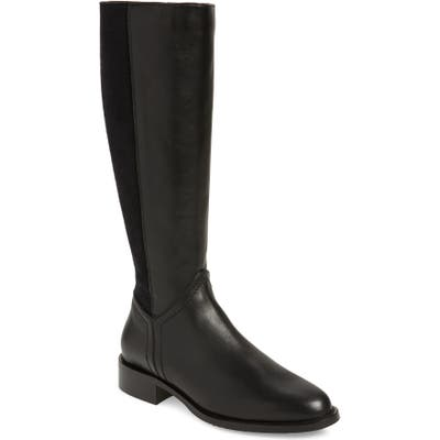 Aquatalia Nia Weatherproof Stretch Knee High Boot, Black