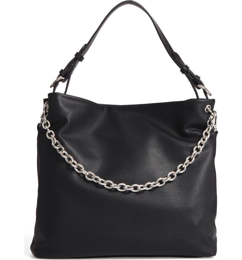 CHELSEA28 Taylor Faux Leather Shoulder Bag, Main, color, 001