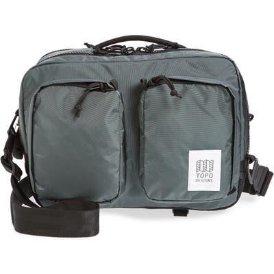 Topo Designs Global Water Repellent Briefcase - Black