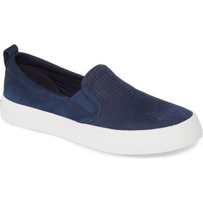 Sperry Crest Twin Gore Slip-On Sneaker- Blue