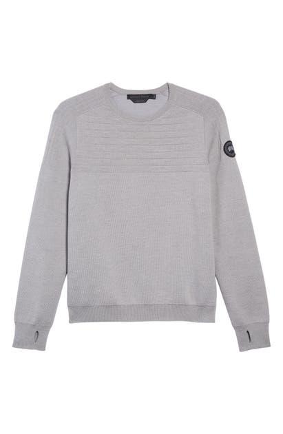 Conway Merino Wool Crewneck Sweater