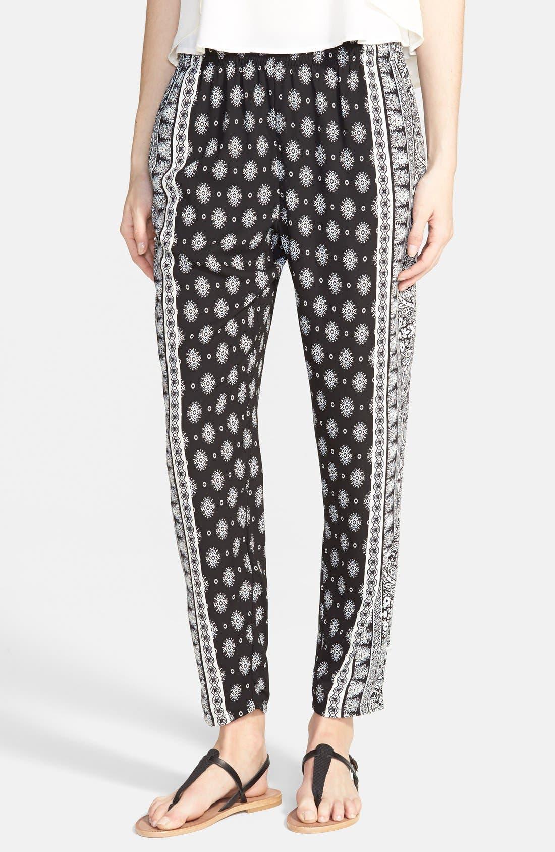 ,                             Perfect Woven Pants,                             Main thumbnail 4, color,                             002