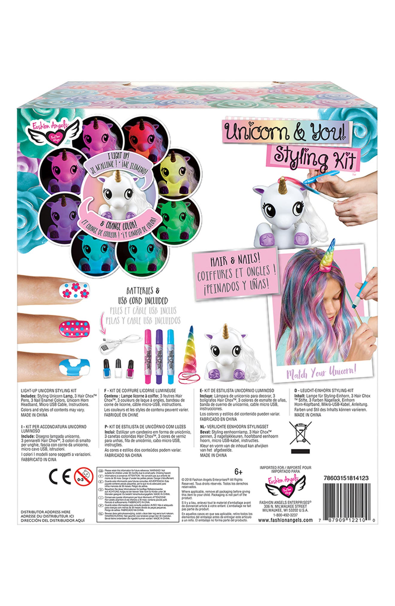 ,                             Unicorn & You Styling Kit,                             Alternate thumbnail 2, color,                             960