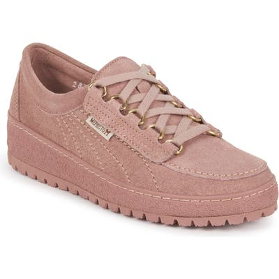 Mephisto Lady Low Top Sneaker- Pink