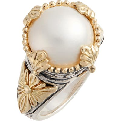 Konstantino Thalia Mixed Media Pearl Ring