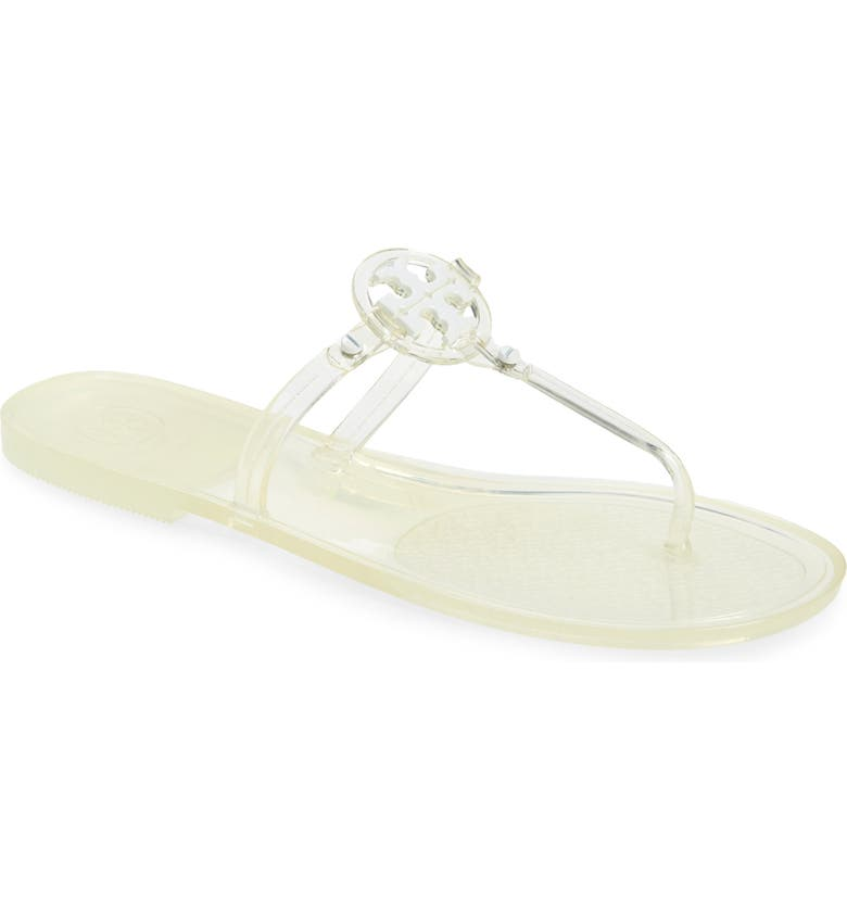 TORY BURCH Mini Miller Sandal, Main, color, CLEAR