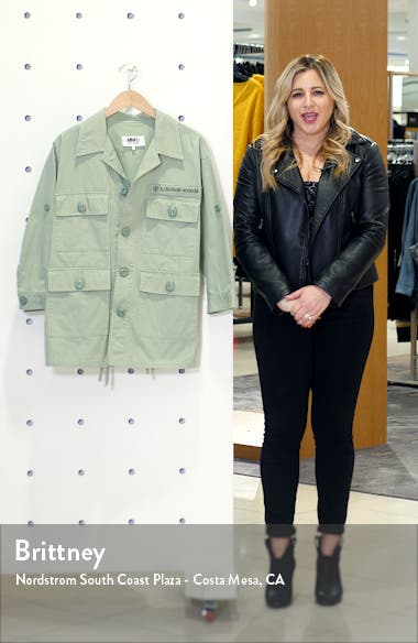 Cotton Military Jacket, sales video thumbnail