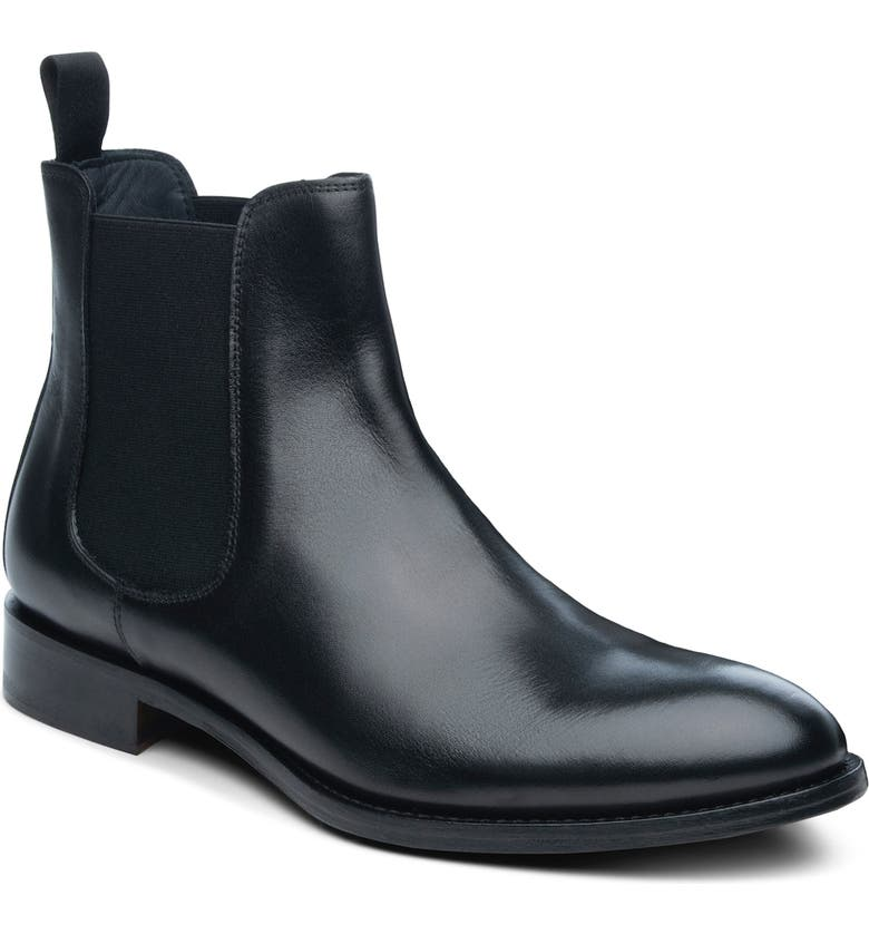 ANKARI FLORUSS Mid Chelsea Boot, Main, color, BLACK