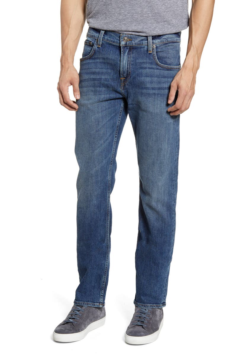 7 FOR ALL MANKIND<SUP>®</SUP> The Straight Slim Straight Leg Jeans, Main, color, PRPH