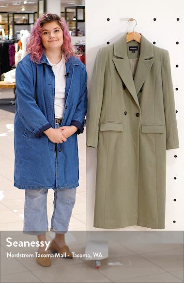 Long Double Breasted Coat, sales video thumbnail