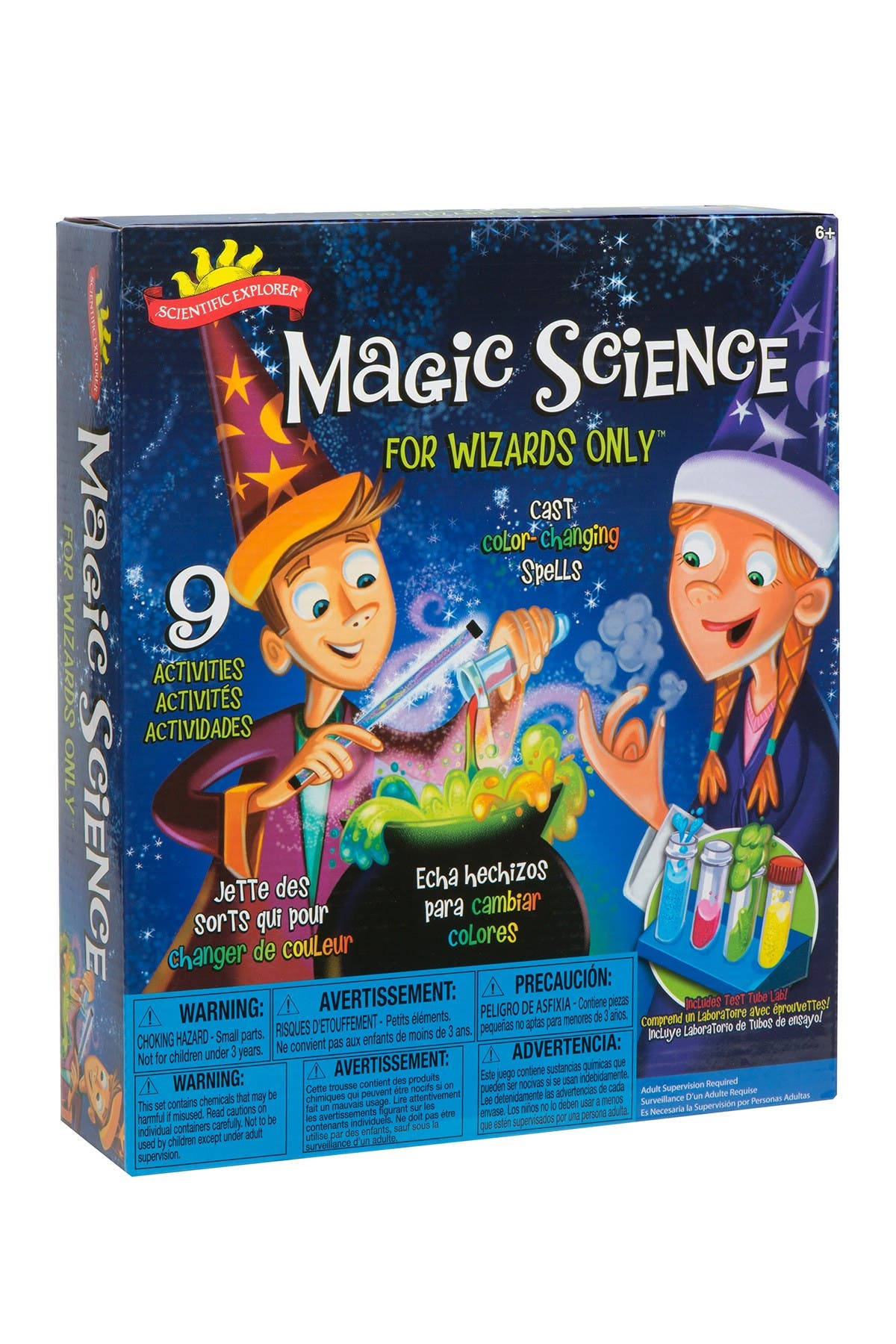 Image of Poof-Slinky Magic Science Kit for Wizards Only